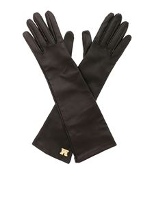 Max Mara - Afide gloves in black nappa