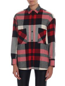 Woolrich - Checked shirt in red black and white