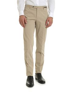 PT01 - Gabardine trousers in beige