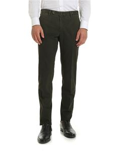 PT01 - Velvet trousers in moss green