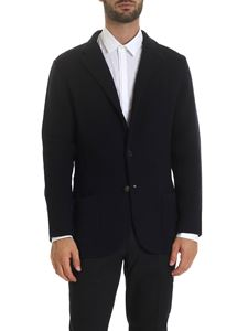 Lardini - Single-breasted jacket in blue