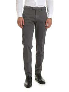 Briglia 1949 - Diagonal pattern trousers in gray