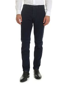 Briglia 1949 - Corduroy trousers in blue