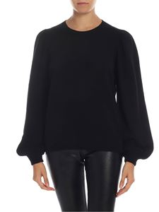Ballantyne - Wool and cashmere pullover in black