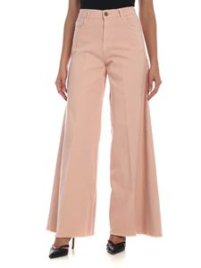 L'Autre Chose - Palazzo jeans in pink