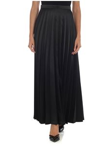 L'Autre Chose - Pleated skirt in black