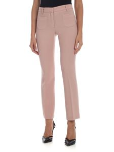 L'Autre Chose - Bootcut trousers in antique pink