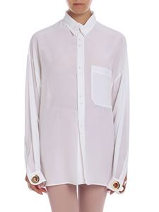 L'Autre Chose - Silk shirt in white