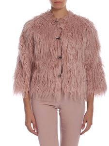 L'Autre Chose - Mongolia-effect fur in pink