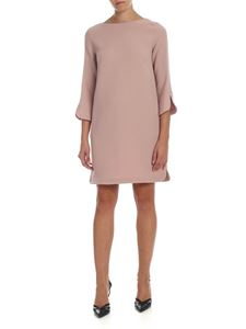 L'Autre Chose - Boat neckline dress in antique pink