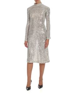 L'Autre Chose - Silver sequined dress