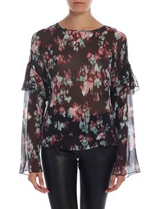 L'Autre Chose - Floral blouse with ruffles