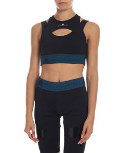 Adidas by Stella McCartney - Top Hybrid crop in black