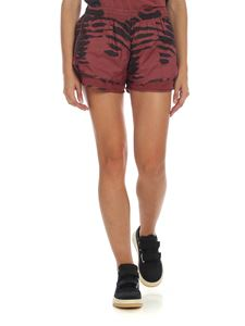 Adidas by Stella McCartney - Run shorts in dark red