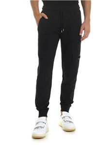 CP Company - Black fleece trousers