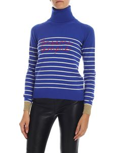 Giada Benincasa - Ciao Amore turtleneck in blue