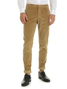 Dondup - Corduroy trousers in beige