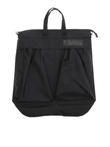 Dondup - Black shoulder bag with logo