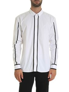 Balearmania - White shirt with contrasting details