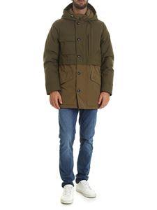 Woolrich -  Teton down jacket in Army green