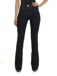 Pinko - Blue Flora 3 flared jeans
