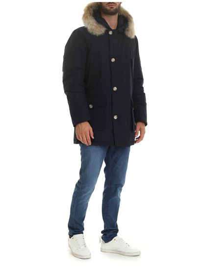 Woolrich - Arctic Parka Df in blue
