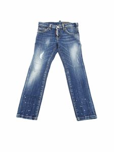 Dsquared2 - Clement jeans in delavè blue