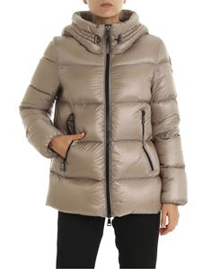 Moncler - Seritte  quilted jacket in beige
