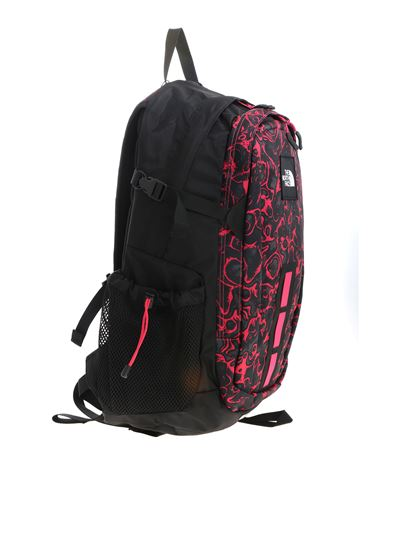 get new half price cheap price Hot Shot See backpack in black and fuchsia