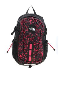 The North Face - Zaino Hot Shot See nero e fucsia