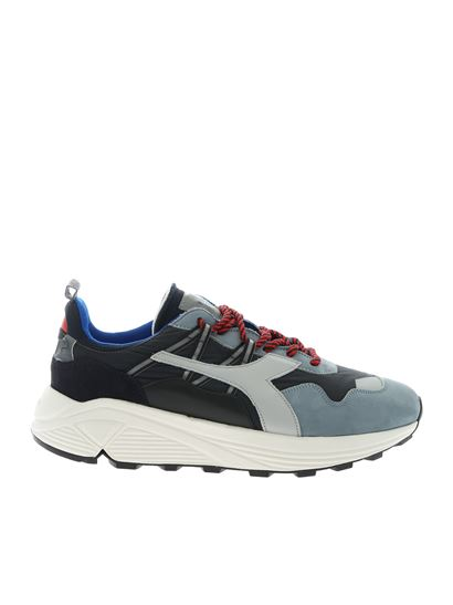 40ef04e7f1 Rave sneakers in black and blue