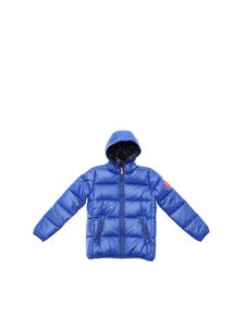 Save the duck - Puffer jacket in electric blue