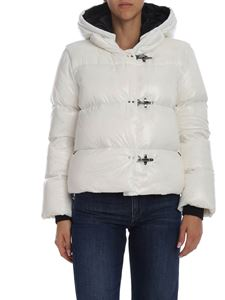 Fay - 3 Hooks down jacket in white