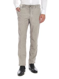 Incotex - Vintage-effect trousers in grey