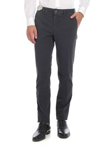Incotex - Slacks trousers in anthracite grey
