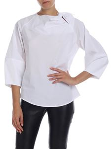 Stella Jean - White blouse with bow