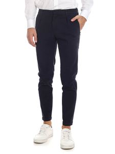 Fay - Capri trousers in dark blue
