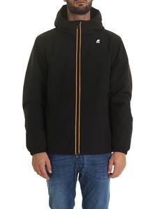 K-way - Jukes Warm Macro Ripstop jacket in black