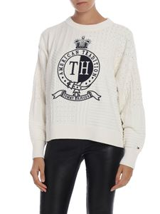 Tommy Hilfiger - Valoune pullover in white