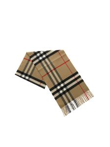 Burberry - Giant Check Archive scarf in beige