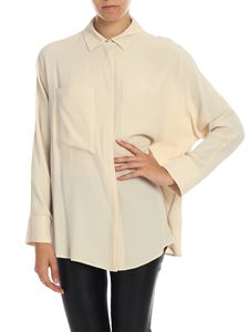 Semicouture - Beige shirt with pockets