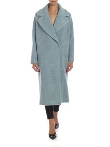 Semicouture - Teddy coat in light blue