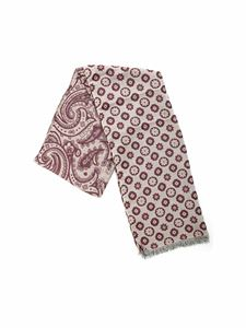 L.B.M. 1911 - Paisley and floral scarf in beige