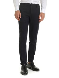 Dondup - Gaubert trousers in black and blue