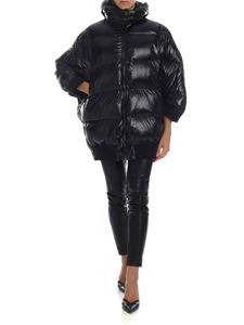 Semicouture - Black oversized down jacket
