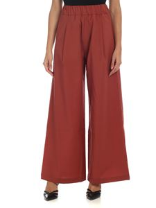 Semicouture - Wide leg trousers in pink