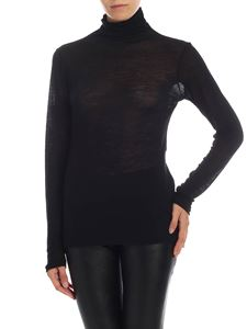 Semicouture - Black jersey turtleneck