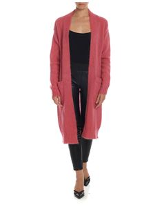 Semicouture - Long cardigan in pink