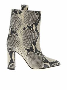 Paris Texas - Reptile print ankle boot