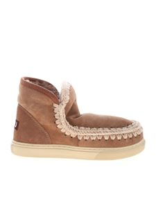 Mou - Eskimo sneakers in antique pink color